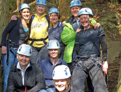 Rock Abseiling Introduction